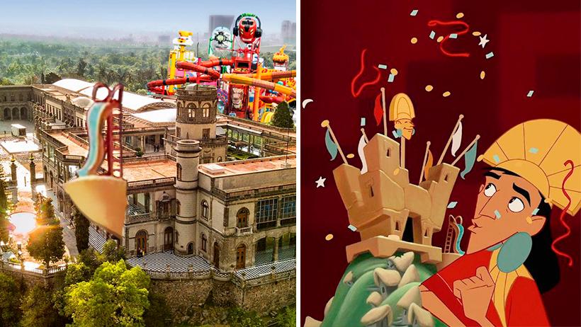 Cover Airbnb Castillo de Chapultepec