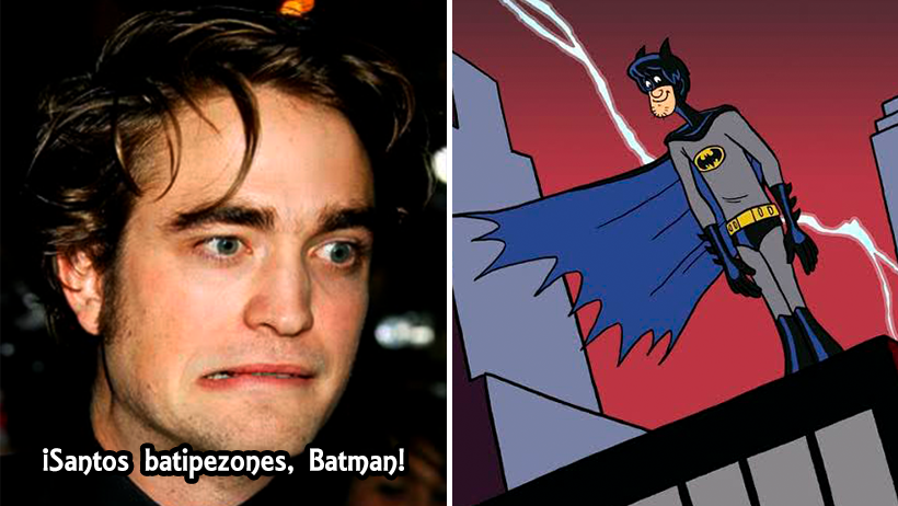 Cover Batman traje Robert Pattinson