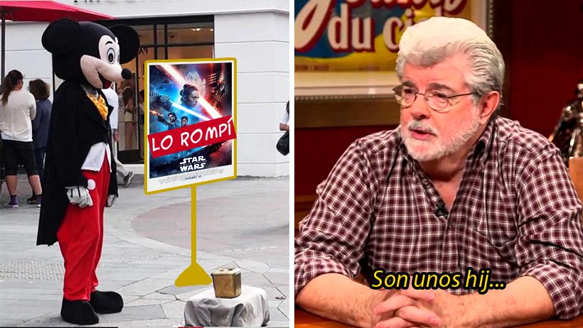 Cover George Lucas Star Wars Disney
