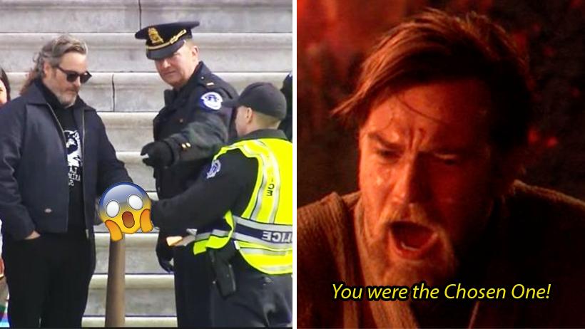 ¿Ese es tu héroe? Joaquin Phoenix aplicó la del Joker y ya se lo llevaron al bote