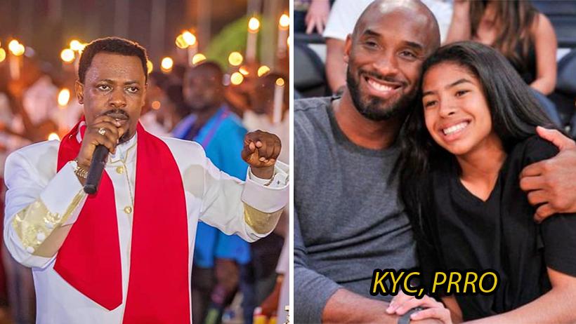 Cover Kobe Bryant Pastor Nigel Gaisie