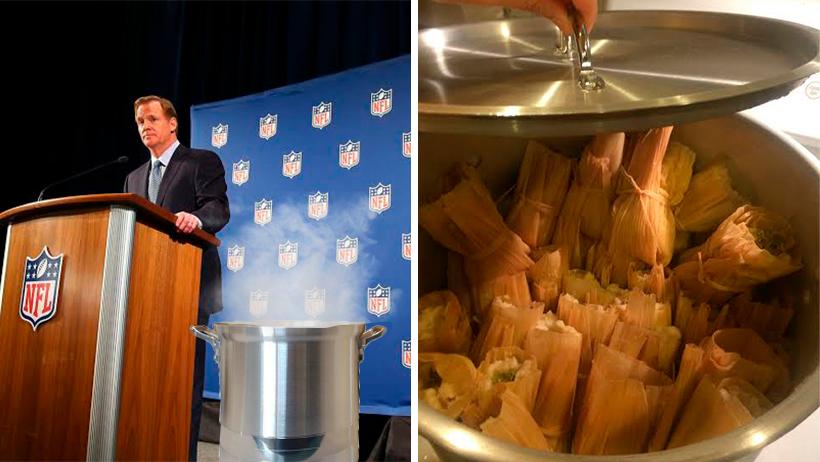 Cover Super Bowl NFL Tamales Día de la Candelaria