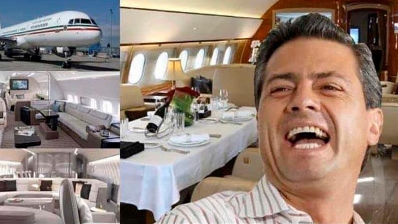 Peña Nieto quiere ganar el avión presidencial.
