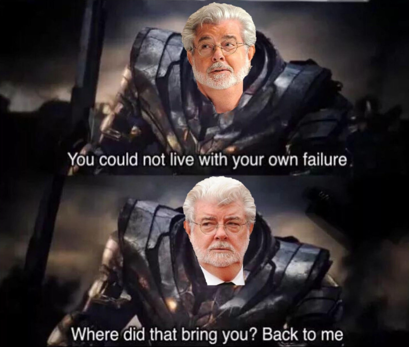 George Lucas Disney Failure Meme