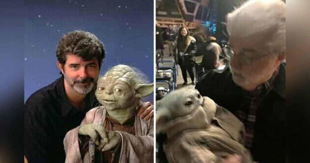 George Lucas presenta Yoda Button, su nueva saga que no tiene que ver con Star Wars