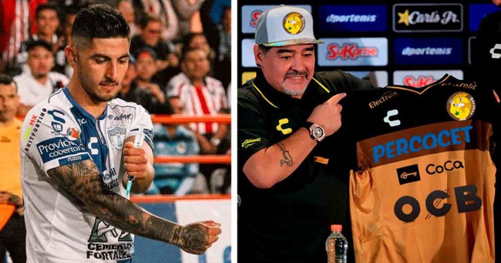 Víctor Guzmán y Maradona crean el equipo Dopados de Culiacán