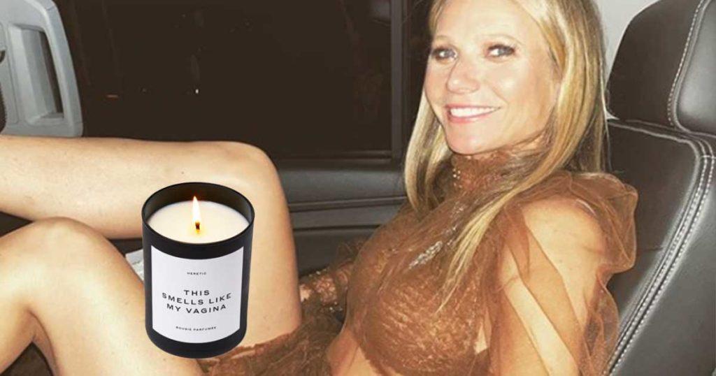 Gwyneth Paltrow sacó una vela con olor a su vagina y todos quieren la suya
