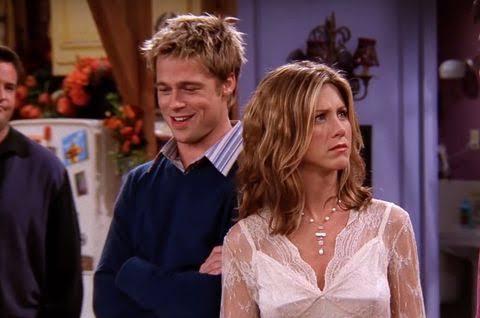 Brad Pitt Jennifer Aniston Friends