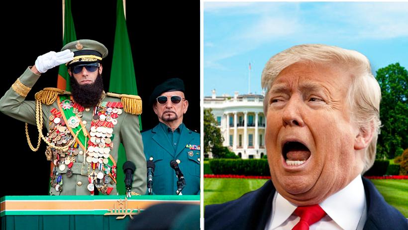 Irán elige al General Aladeen como líder militar para disputar la Tercera Guerra Mundial
