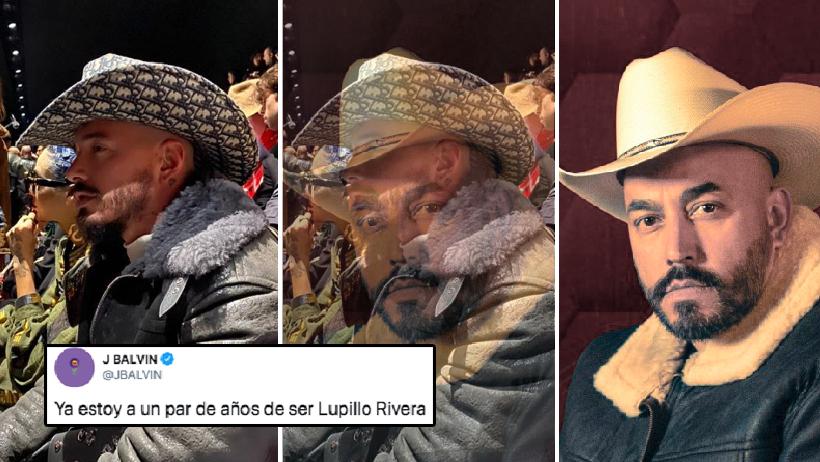 J Balvin está a un par de años de ser Lupillo Rivera