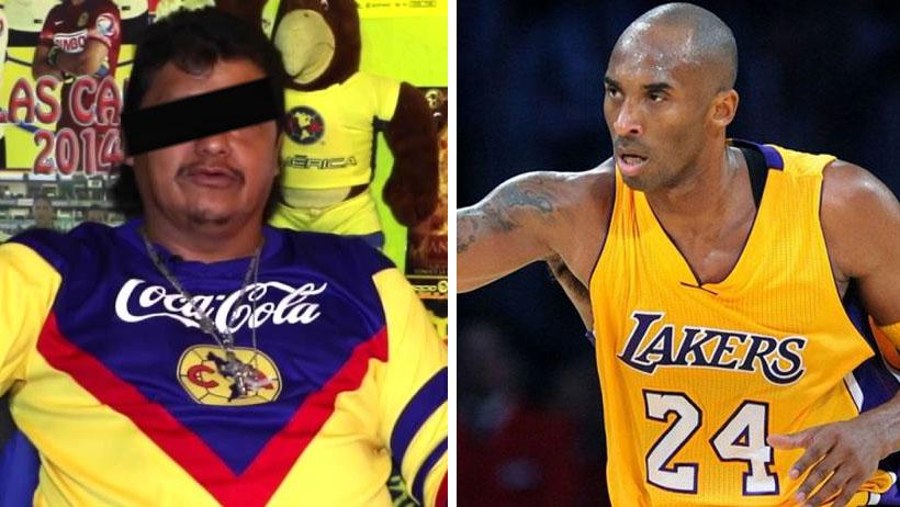 Hombre que se la pasa viendo futbol se dice consternado por la partida de Kobe Bryant