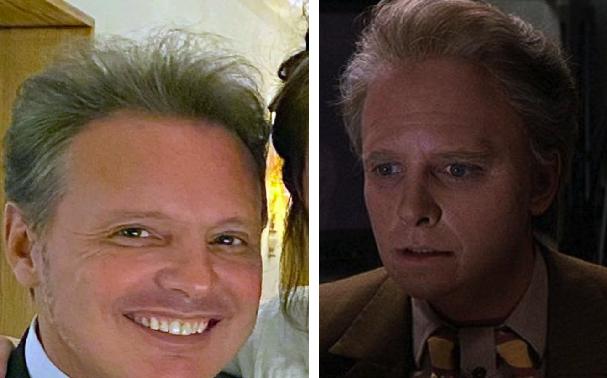 Luis Miguel termina su transformación en Marty McFly del futuro