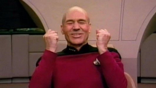 Picard excited meme