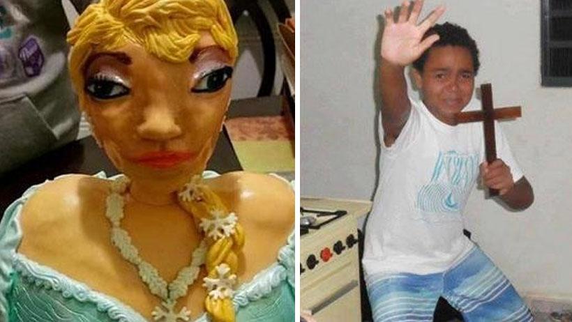 Muñeca embrujada de las Frozen aterroriza familia