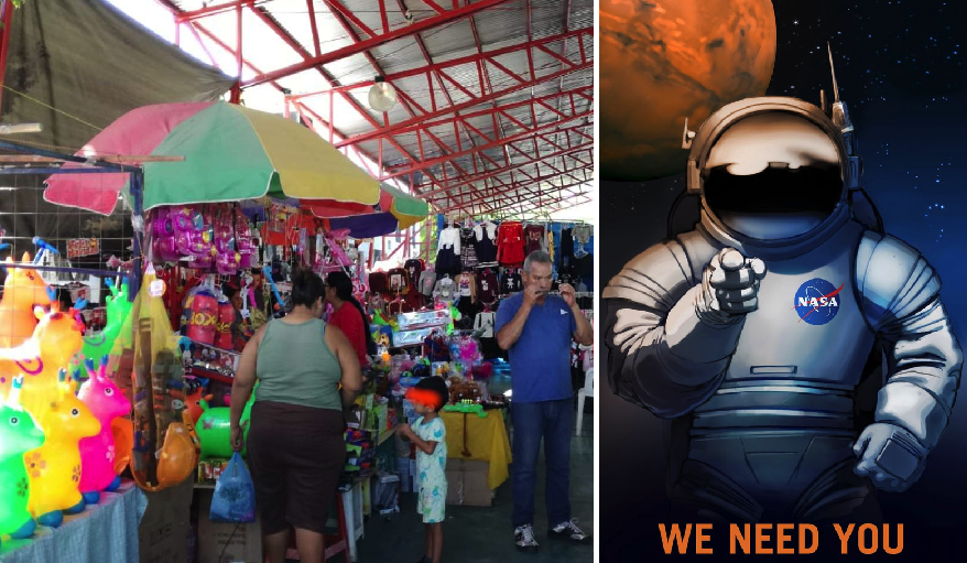 Niños que no vieron regalos de los Reyes Magos serán contratados por la NASA en el futuro