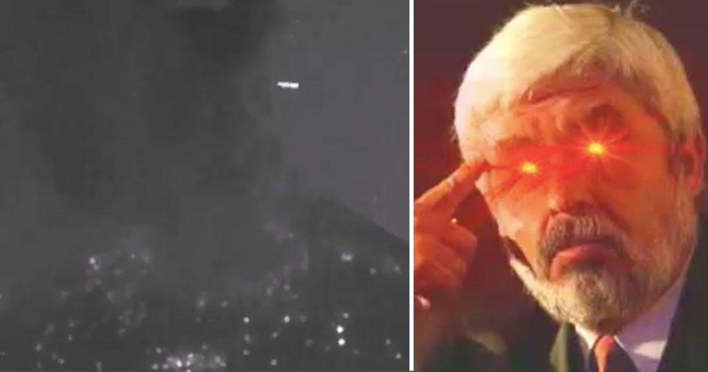 El Popo vuelve a explo… ¡OLV! Captan un OVNI pasando justo por ahí
