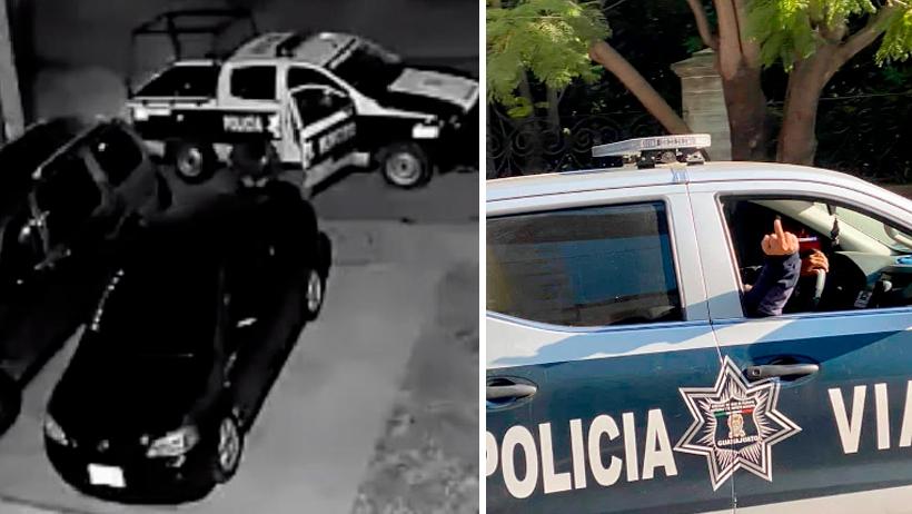 Policías del Edomex roban.