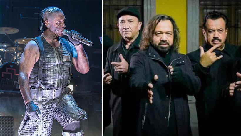 Rammstein niega que abrirá conciertos de Los Acosta en México