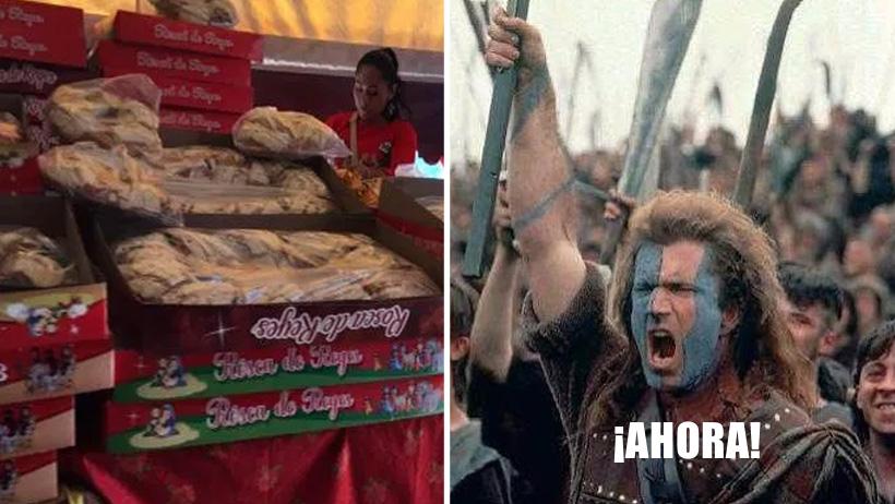 ¿Te quedaste con ganas de Rosca de Reyes? Pues vas, porque ni se vendieron