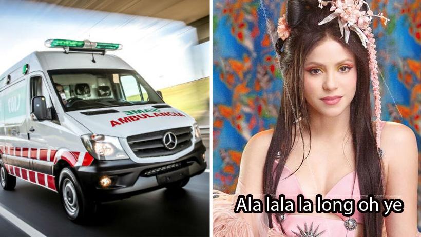 Hospitalizan a Shakira tras quebrarse la cabeza al componer más reguetón