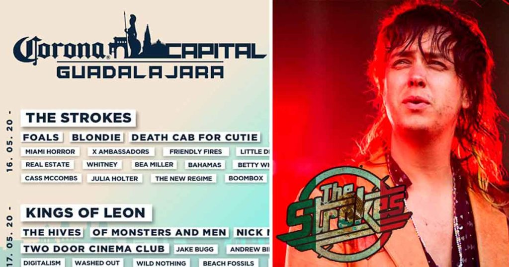 The Strokes y Kings Of Leon empiezan a pagar predial de tanto venir al Corona Capital
