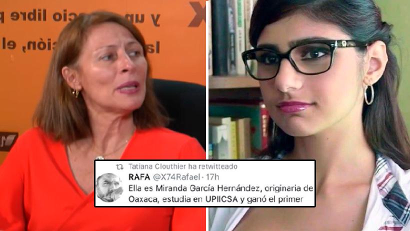 Tatiana Clouthier confundió a Mia Khalifa