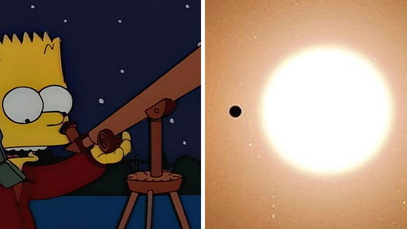 Causal que tienes 17 años, es tu tercer día de chamba y ya descubriste un planeta