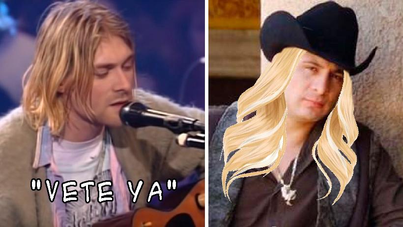 Valentín Elizalde era el Kurt Cobain mexicano