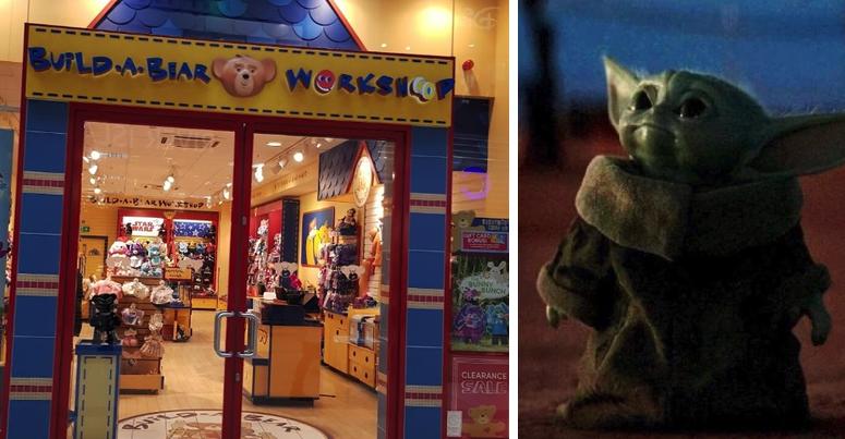 Hay Yoda bebé para rato: ya llegó la figura de peluche a Build-A-Bear