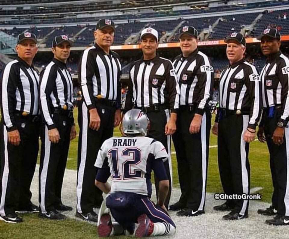 Patriots referee meme