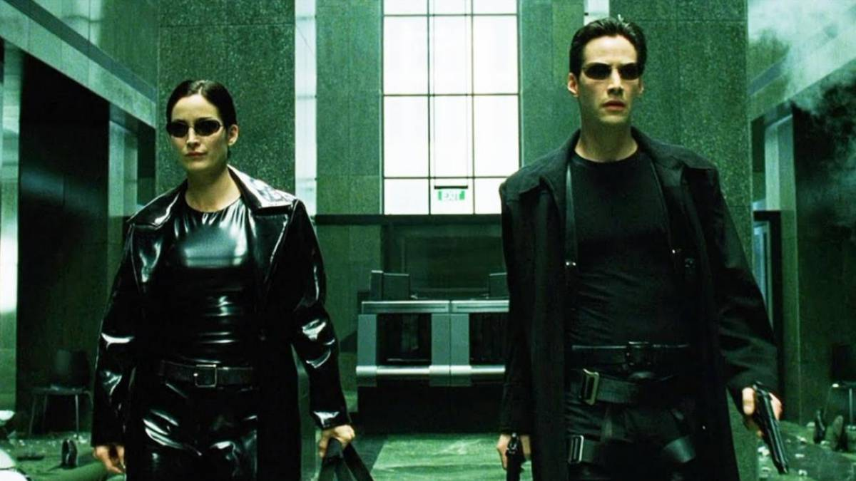 Neo and Trinity Matrix