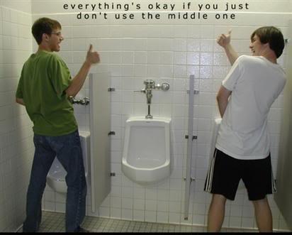 urinal meme