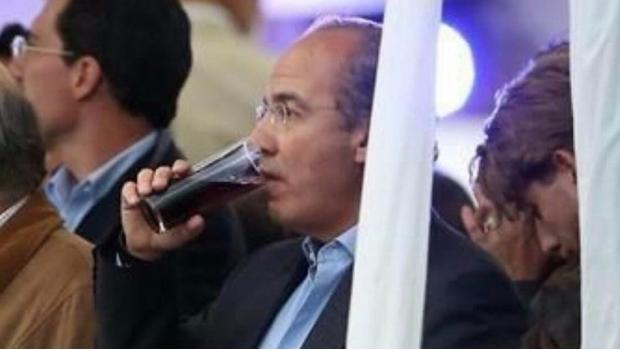 Felipe Calderon Borracho