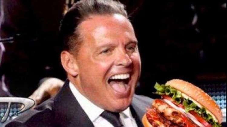 Luis Miguel hamburguesa