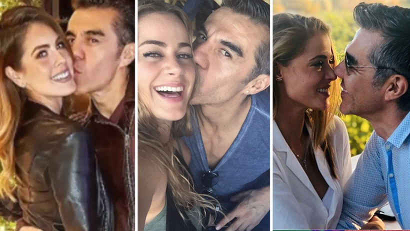 7 novias de Adrian Uribe que demuestran que lo que importa es el sentido del humor
