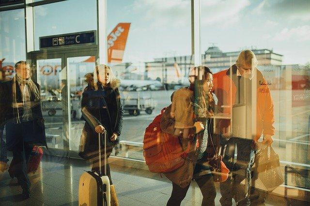 Pasajero de aeropuertos