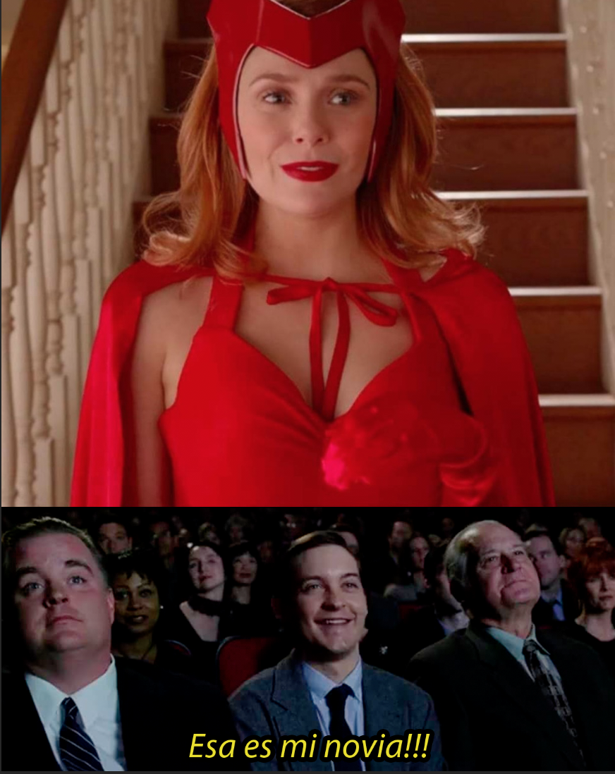 Scarlet Witch WandaVision Meme spiderman