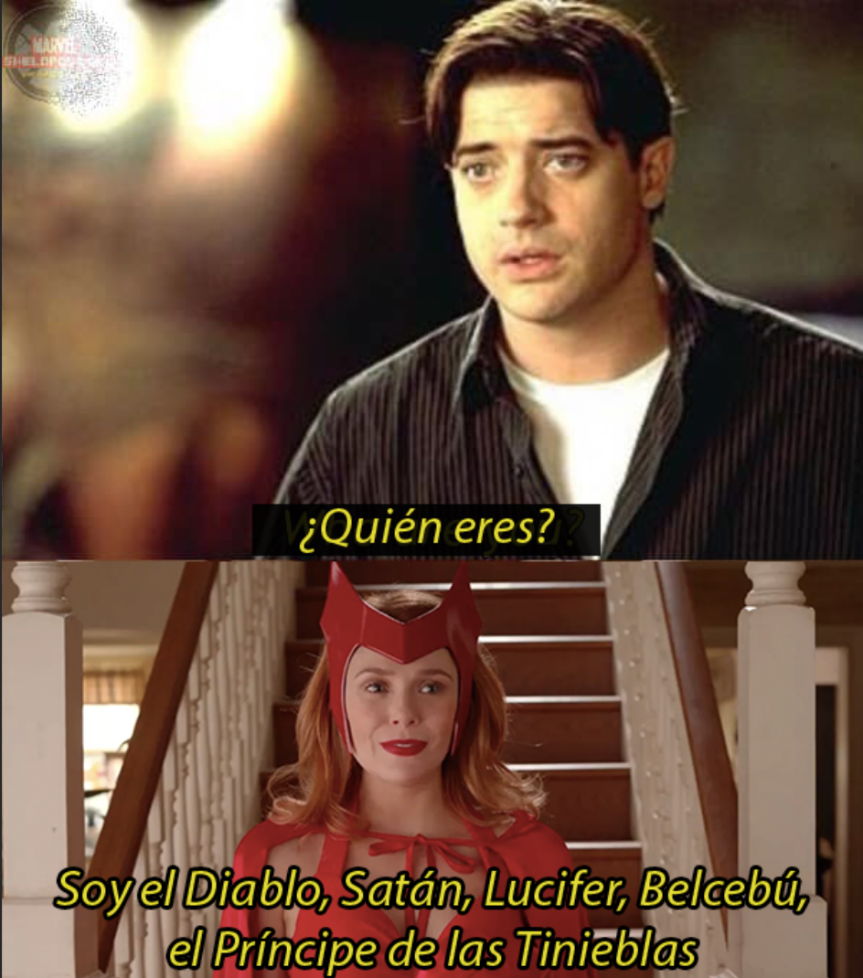 Scarlet Witch WandaVision Meme al diablo con el diablo