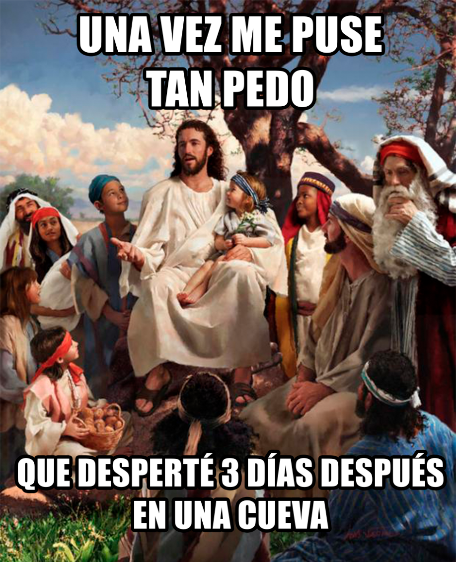 Jesús pedo meme
