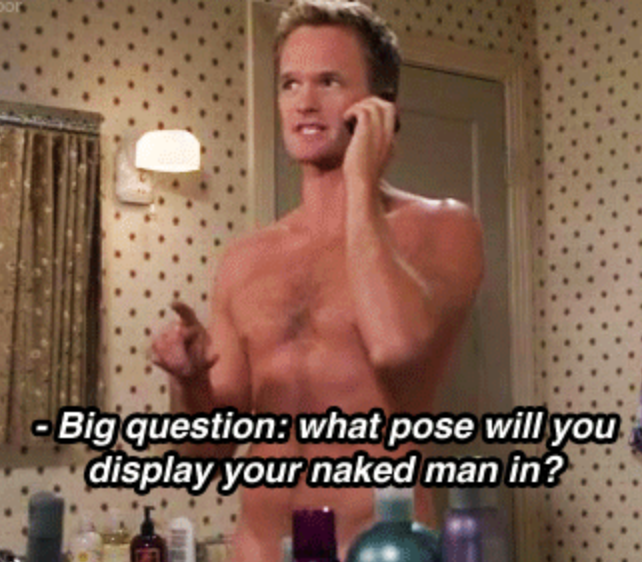 the naked man how i met your mother
