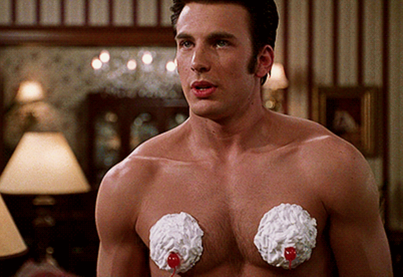 Chris Evans Whipped Cream Not Another Teen Movie