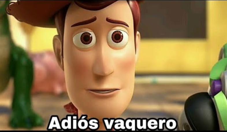 Adios vaquero meme