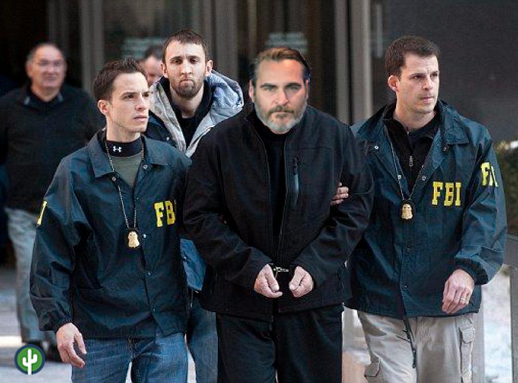 Joaquin Phoenix arresto fbi