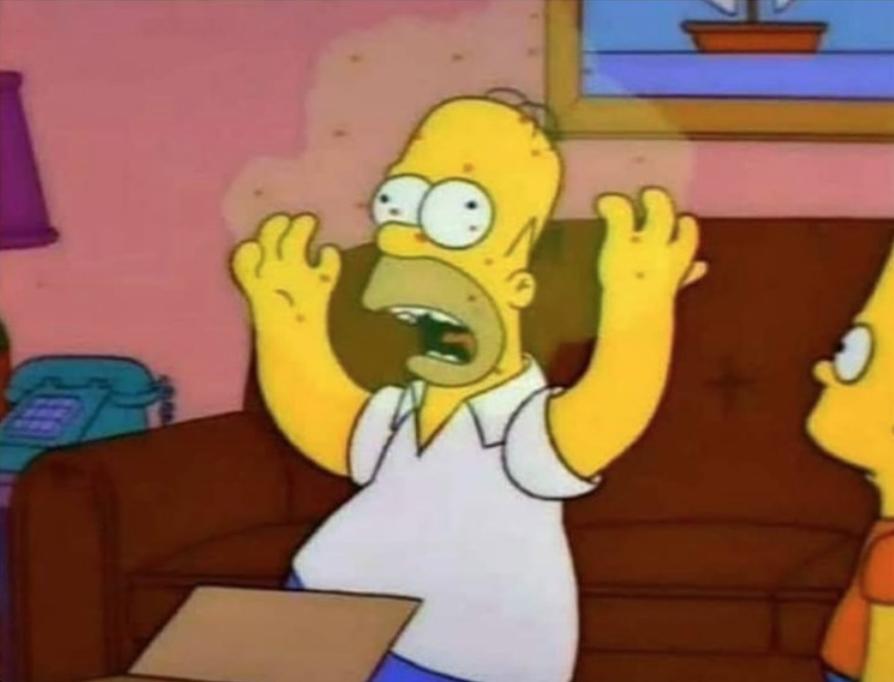 Coronavirus Homero meme