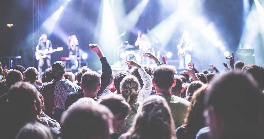 objetos prohibidos en concierto