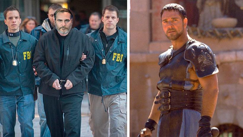 Arrestan a Joaquin Phoenix tras ser culpado por la muerte de Maximus Decimus Meridius