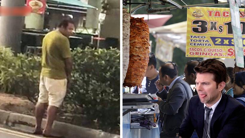 Cover comer en la calle
