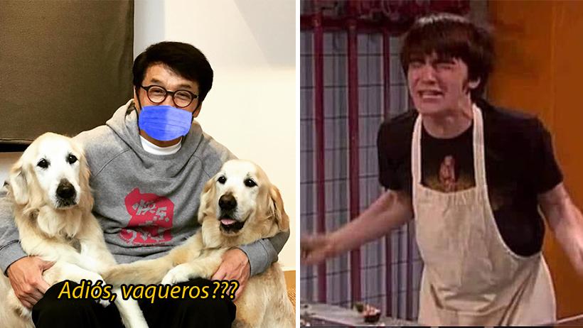 Cover Jackie Chan Coronavirus Cuarentena