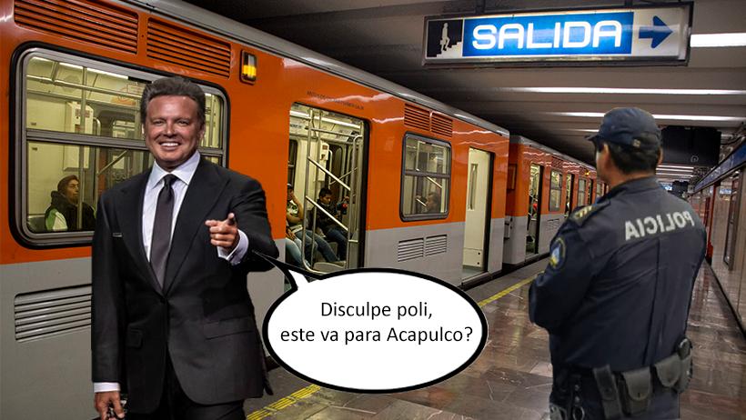 Cover Luis Miguel en el Metro