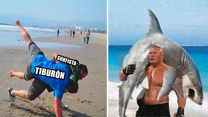 Así fue como un surfista sacó el barrio contra el tiburón blanco que lo estaba atacando